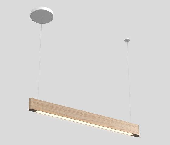 Line Light 40 p by Matthew McCormick Studio   Suspended lights