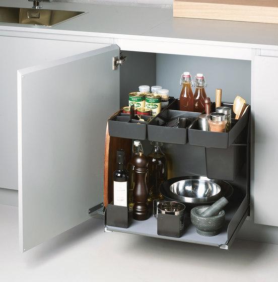 Kitchen Tower Base Unit Pull-out by peka-system | Kitchen organization