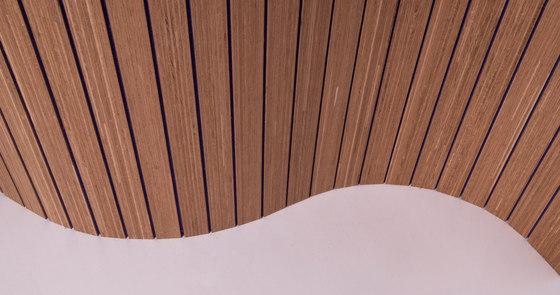 Plexwood Acoustic - Wool felt flexible by Plexwood | Wall veneers