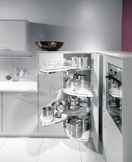 LeMans II Estrazione angolare di peka-system   Organizzazione cucina