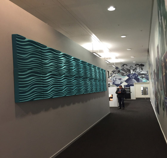 Wave by Soundtect | Sound absorbing wall systems