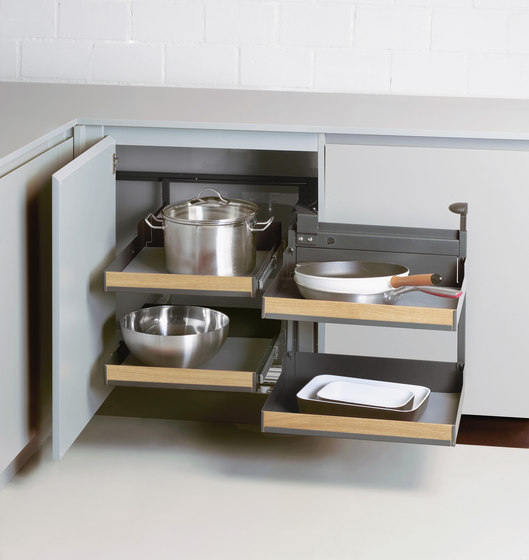 Magic Corner Comfort Corner Pull-out by peka-system | Kitchen organization