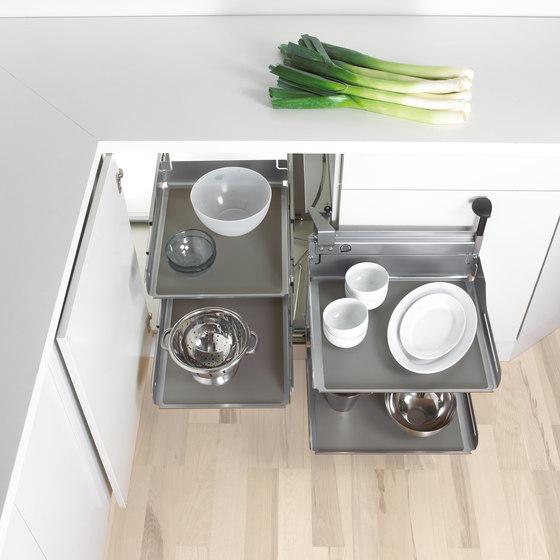 Magic Corner Comfort Corner Pull-out by peka-system | Kitchen organization