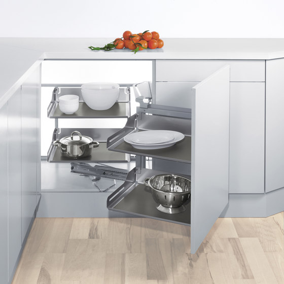 Magic Corner Flex Corner Pull-out by peka-system | Kitchen organization