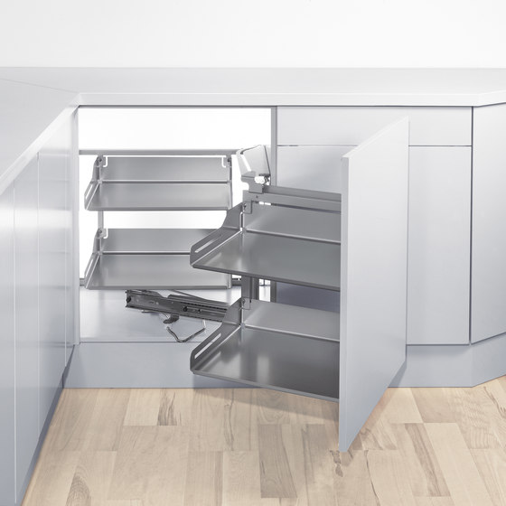Magic Corner Flex Corner Pull-out by peka-system | Kitchen organization