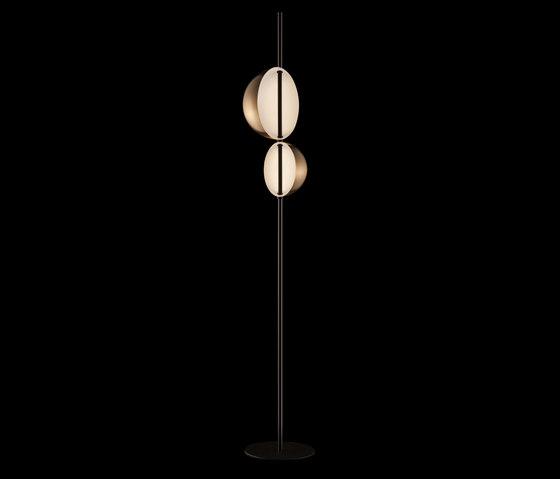 Superluna | 397 by Oluce | Free-standing lights