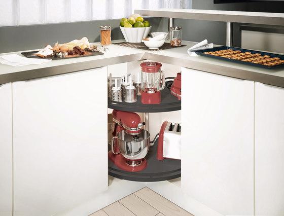 Revo Piano rotante di peka-system   Organizzazione cucina