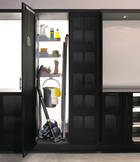 Sesam Standard For Cleaning Cupboards by peka-system | Kitchen organization