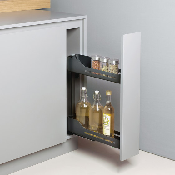 Snello Base Unit Pull-out by peka-system | Kitchen organization