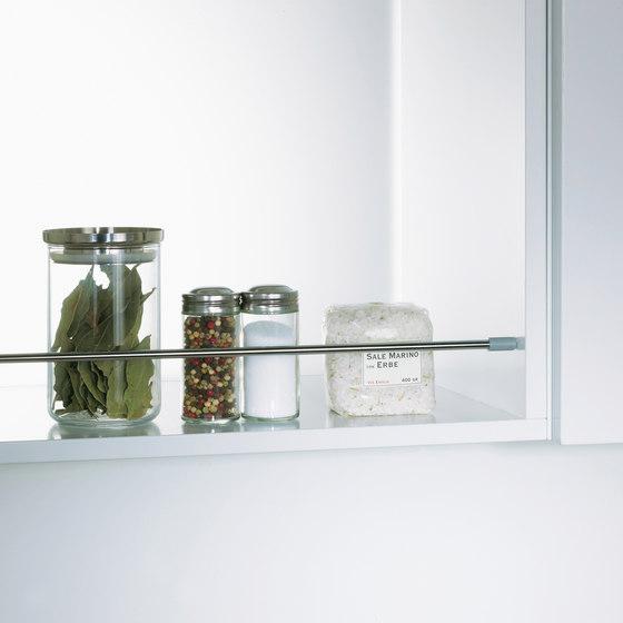 Spica Shelf Rail by peka-system | Kitchen organization