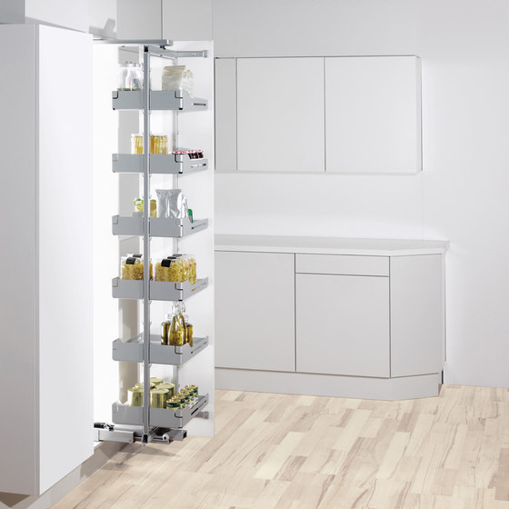 Swing Hochschrank Larder Pull-out by peka-system | Kitchen organization