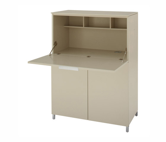 Everywhere | Secretaire C 40 Lacquers - Price A - / Lacquers by Ligne Roset | Desks