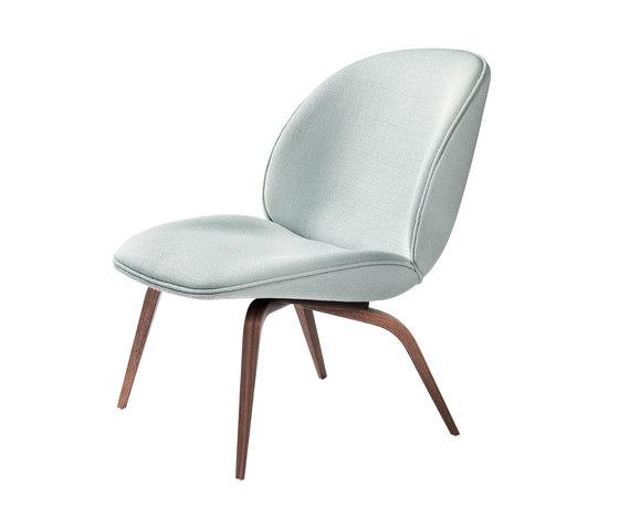 Beetle Lounge Chair - Wood Base de GUBI | Sillones