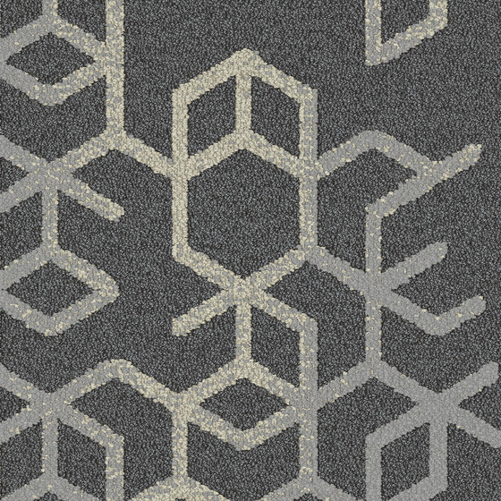 Let It Bee - Bee's Knees Morning Mist by Interface USA | Carpet tiles