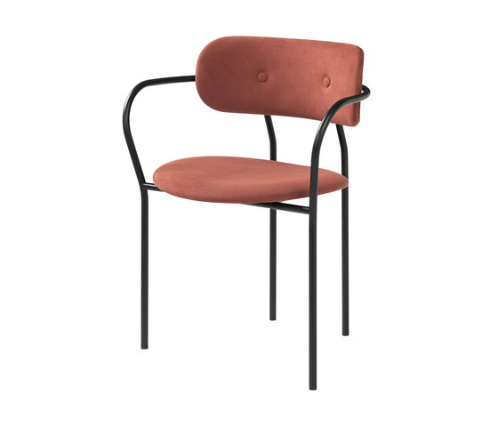 Coco Dining Chair With Armrest de GUBI | Sillas