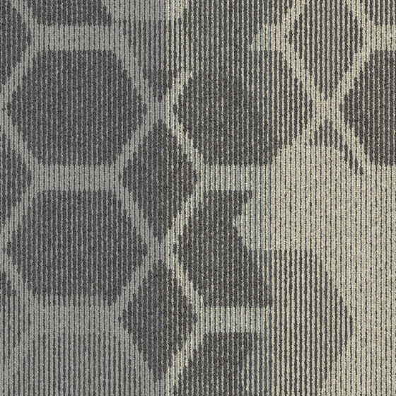 Let It Bee - Honey Don't Morning Mist by Interface USA | Carpet tiles