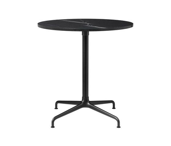 Beetle Dining Table - Round - 4-star Base von GUBI | Esstische