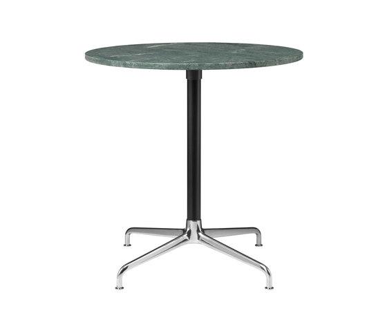 Beetle Dining Table - Round - 4-star Base de GUBI   Mesas comedor