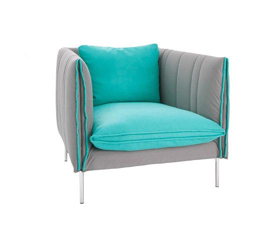 FourtyTwo | niedriger Rücken von SMV Sitz- & Objektmöbel | Sessel