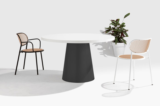 Dial Table - Cone Base by DesignByThem | Dining tables