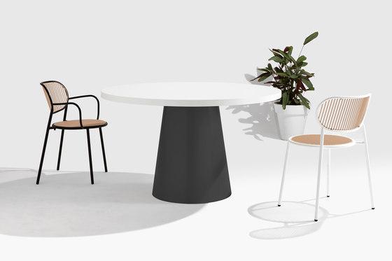 Dial Table - Cone Base di DesignByThem | Tavoli pranzo