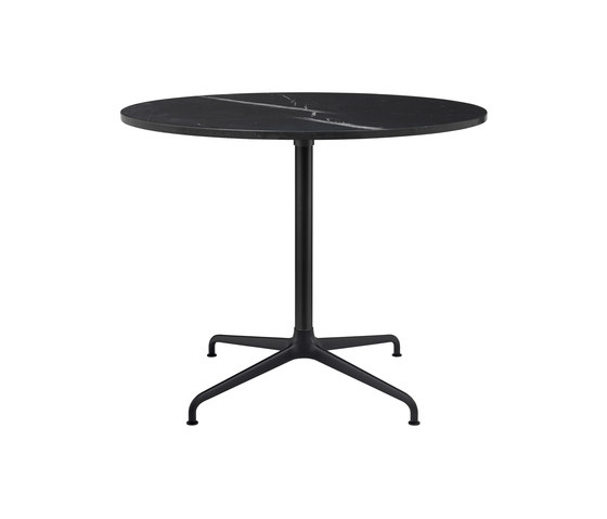 Beetle Dining Table - Round - 4-star Base by GUBI | Dining tables