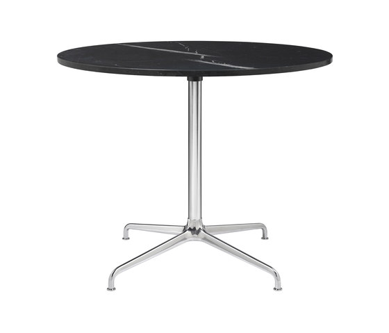 Beetle Dining Table - Round - 4-star Base de GUBI | Mesas comedor