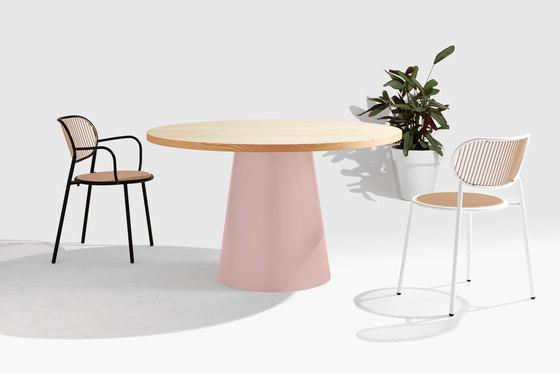 Dial Table - Cone Base de DesignByThem   Mesas comedor