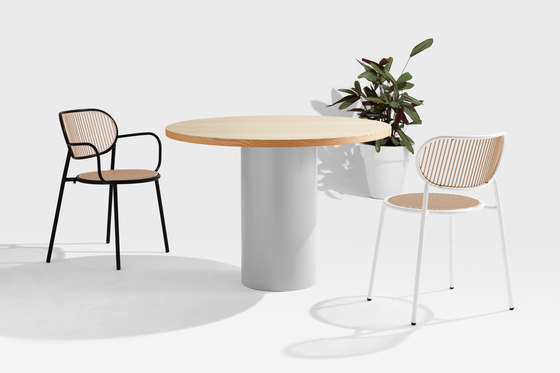 Dial Table - Cylinder Base de DesignByThem | Mesas comedor