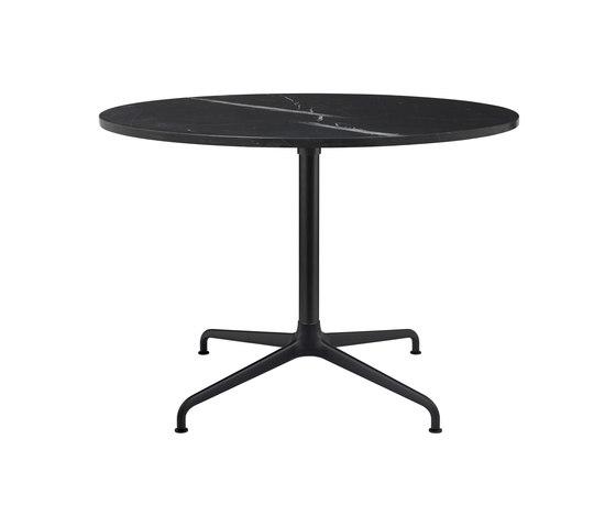 Beetle Lounge Table - Round - 4-star Base de GUBI | Mesas comedor