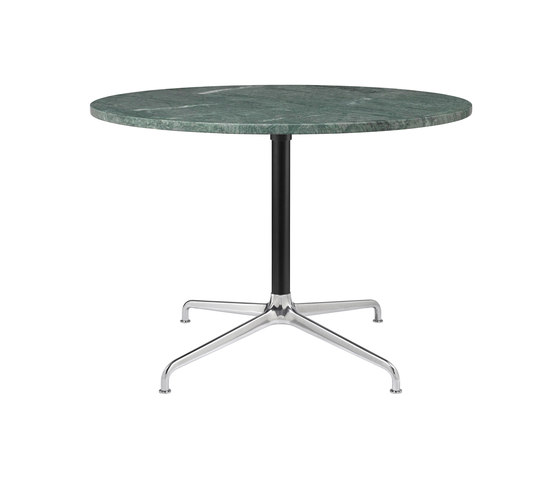 Beetle Lounge Table - Round - 4-star Base by GUBI | Dining tables