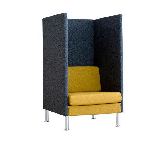 Manhattan | HighBack 1,5-Sitzer von SMV Sitz- & Objektmöbel | Sessel