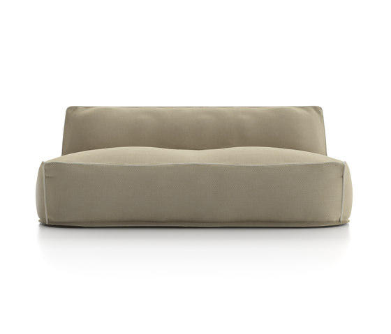 Soft Modular Sofa Central Module 2 seats by Atmosphera | Sofas