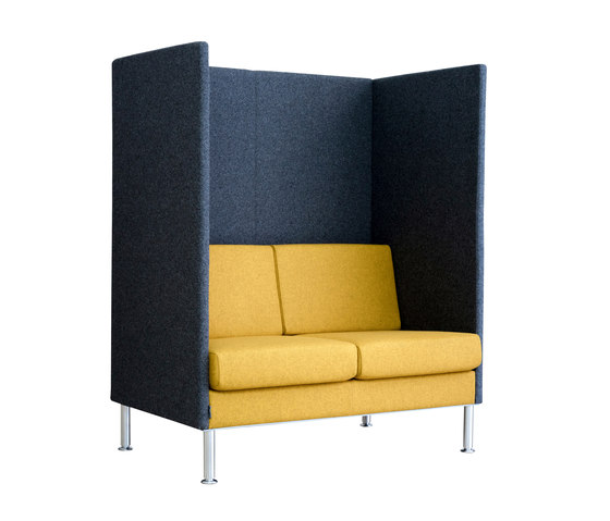 Manhattan | HighBack 2-seater by SMV Sitz- & Objektmöbel | Sofas