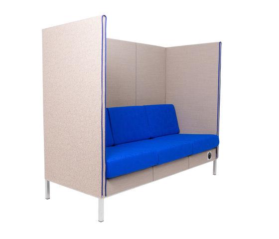 Manhattan | HighBack 3-seater by SMV Sitz- & Objektmöbel | Sofas