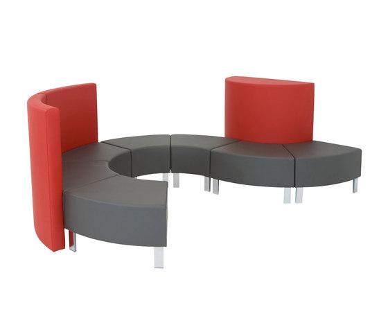 Wave Family von SMV Sitz- & Objektmöbel | Sofas