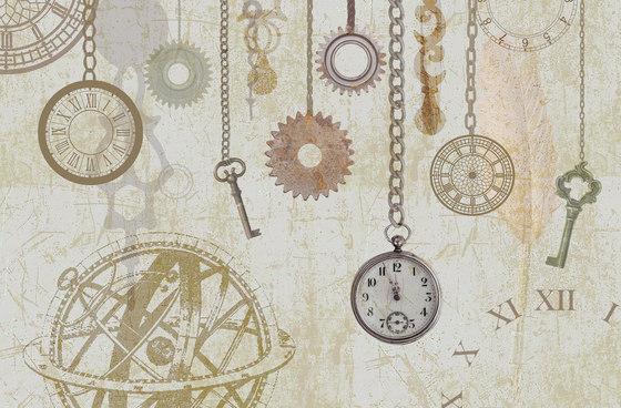 Clock and Keys de WallPepper | Revestimientos de paredes / papeles pintados