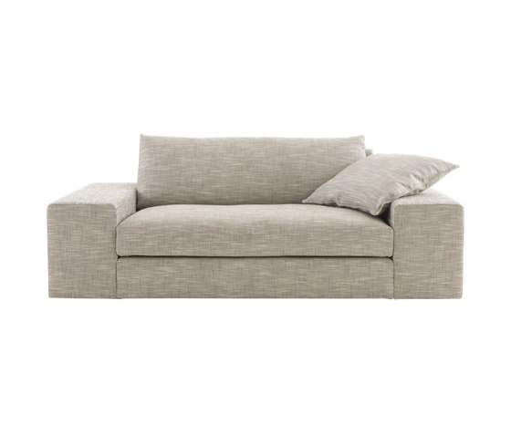 Exclusif | Small Settee With Armrest B Complete Item by Ligne Roset | Sofas