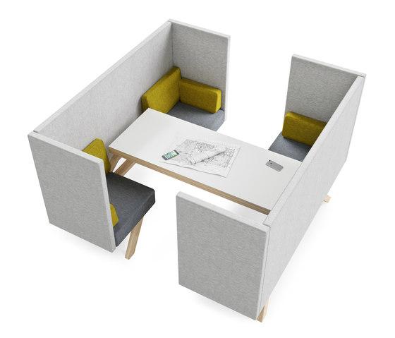 TOOaPICNIC connecting table de TooTheZoo | Sistemas de mesas sillas