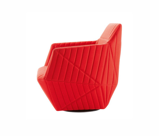 Facett | Drehbarer Sessel Mit Armlehnen von Ligne Roset | Sessel