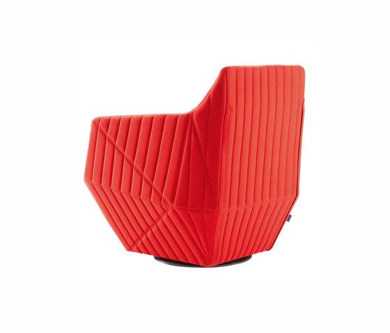 Facett | Swivelling Armchair by Ligne Roset | Armchairs