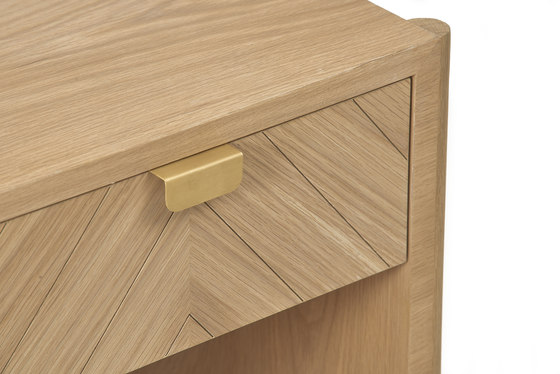 Marius side bed by Hartô   Night stands