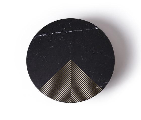 Gold Radius by Alex Mint | Coffee tables