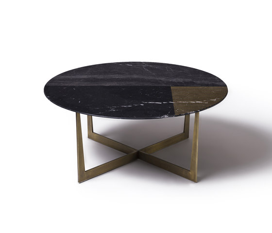 Gold Radius by Alex Mint | Coffee tables