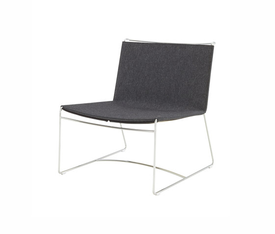 Fil | Fireside Chair Felt Version Choice Of Colours by Ligne Roset | Armchairs