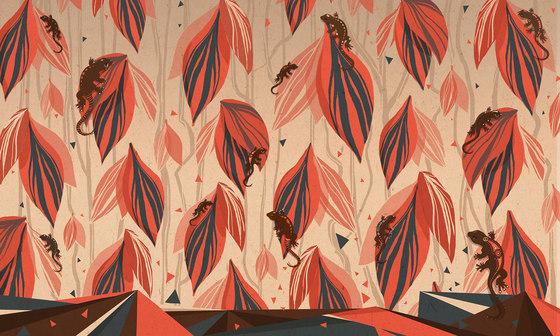 La tribù del geco de WallPepper | Revestimientos de paredes / papeles pintados