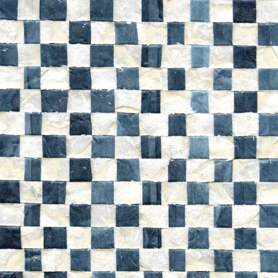 Costa verde | Nacre vichy RM 675 45 de Elitis | Revestimientos de paredes / papeles pintados