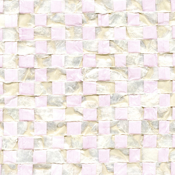 Costa verde   Nacre vichy RM 675 54 by Elitis   Wall coverings / wallpapers