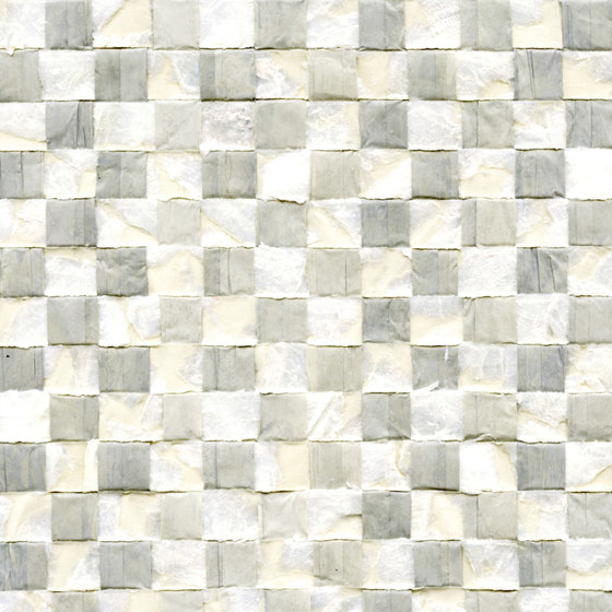 Costa verde | Nacre vichy RM 675 82 by Elitis | Wall coverings / wallpapers