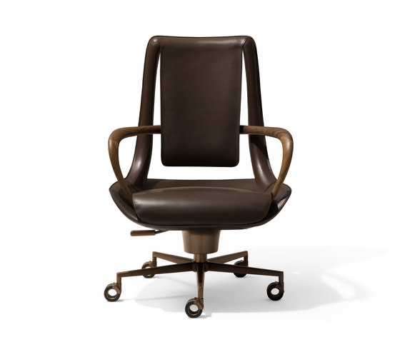 Clip Armchair by Giorgetti | Office chairs